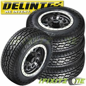 4 Delinte Dx10 Bandit A T Lt285 70r17 10 Ply All Terrain Tires 50000 Mi Warranty