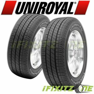 2 Uniroyal Tiger Paw Touring 215 60r17 96h All Season a s Tires