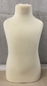 Child Mannequin Torso Body Form For Displaying Child Clothing Size