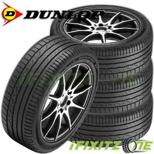 4 New Dunlop Signature Hp 205 55r16 91v 45k Mile All Season Performance Tires