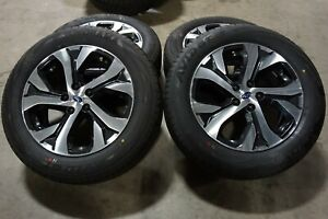 18 2020 Subaru Outback Factory Oem Gray Machined Wheels Rims Yokohama Tires
