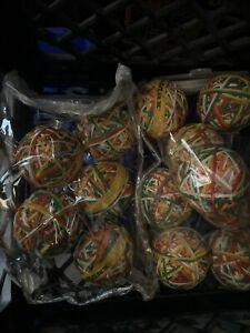 13x 240 Ct Assorted Color Rubber Band Ball 5 3 Ounces For Office Max