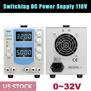 Adjustable 0 32v 5a 160w Regulated Switch Dc Constant Power Supply For Dc Motor