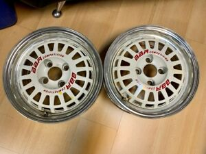 14 Bbr Competition By Enkei Jdm Wheels Rims 2 Piece Original