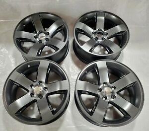 Dodge Challenger Charger 18 Factory Oem Wheels Rims Charcoal 2359 Chrysle