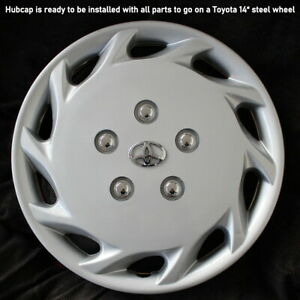 Camry Corolla Hubcap Application Toyota 14 Steel Wheel Cover