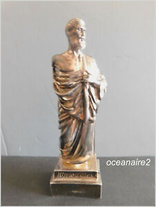 Hippocrates Figurine 990 Sterling Silver Weighted