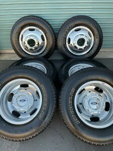 17 Ford F 350 Dually 2020 Rims Wheels Alloy Tires Oem 2018 2019 3618 3619 New
