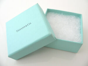 Tiffany Co Gift Box For Necklace Bracelet Earrings Presentation Box Only