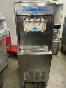 2011 Taylor 336 Soft Serve Frozen Yogurt Ice Cream Machine Warranty 3ph Water
