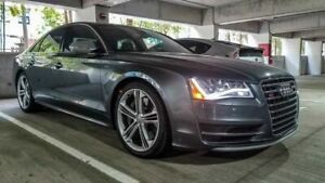 4 Audi S8 Wheels Brand New Tires