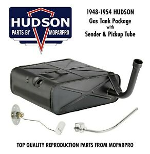 1953 Hudson New Complete Fuel Gas Tank Package New Tank Sending Unit Tube