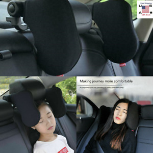 Soft Car Seat Pillow Headrest Neck Support Auto Back Travel Sleeping Cushion Usa