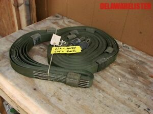 Us Military Truck 20 Humvee 67000 Lb Tow Pull Recovery Strap Off Road Jeep 4x4
