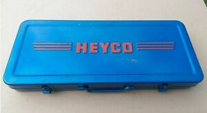 Vintage Heyco Af Metric Whitworth Socket Set Chrome Vanadium Germany Excellent