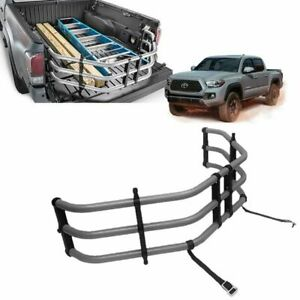 2012 2021 Tacoma Bed Extender Silver Powder Coated Genuine Toyota Pt392 35120
