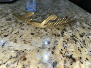 Used Cadillac Lasalle Grille Emblem 1940