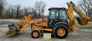 2011 Case 580 Super N Backhoe 5381 Hours Quick Attach Just Serviced Nice