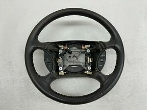 1999 2004 Oem Ford Mustang Charcoal Leather Gt Steering Wheel 99 04 S9151