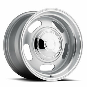 Rev 107 Classic Rally Rim 18x8 6x139 7 Offset 0 Silver quantity Of 4