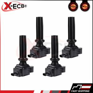 4 Uf670 Ignition Coil Pack For Ford Fusion Focus L4 2 0l 2013 2014 2015 2016
