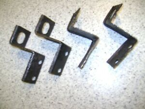 1968 1969 Pontiac Gto Lemans Front Grille Lower Mounting Brackets