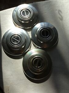 Vintage 1995 Ford Ranger Dog Dish Hubcaps F07a 1130 Aa Set Of 4