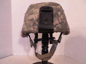 US Army ACH MICH helmet NV mount and ACU cover. MSA size M. Excellent $249.95