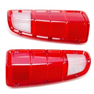 For 72 80 Dodge Truck Plymouth Power Wagon Rear Tail Light Lens Only Lh Rh