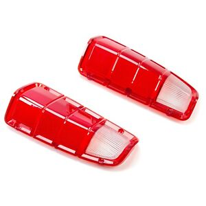 Tail Light Lens Only Pair Lh Rh For 1972 1980 Dodge Truck Plymouth Power Wagon