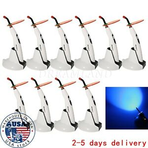 10x Dental Wireless Led Curing Light Lamp 1400mw Led b Cordless Composite Cicx