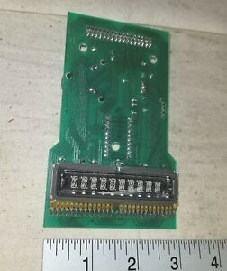 National 623 Coffee Vending Machine Display Board Part No 9989498a New