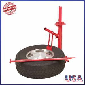 Portable Tire Changer Car Truck Motorcycle Manual Bead Breaker Tool Machine Hand