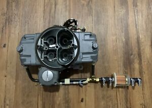 Demon Carburetor 750 Cfm Secondary Vacuum