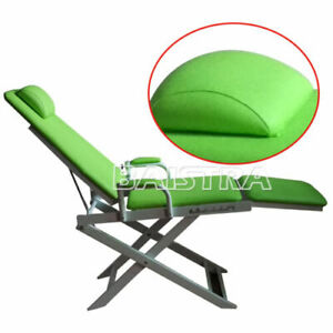 Portable Dental Folding Unit Chair Instrument Equipment Green Color