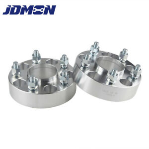 2x 1 5 Hubcentric Wheel Spacers 5x4 75 To 5x4 75 Fit For Chevy S10 Gmc Pontiac
