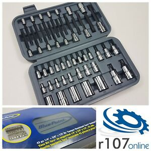 Blue Point 43pc Torx Socket Set With E torx As Sold By Snap On