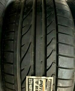 New 255 40 17 Bridgestone Potenza Re050a 1 255 40r17 94v Tire