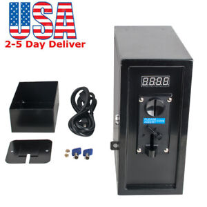 Coin Operated Timer Control Box Electronic Tool Coin Selector Acceptor Timer Us
