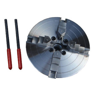 4 Jaw Lathe Chuck 6 150mm Self centering Jaw Woodworking Metalworking Cnc Mill