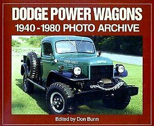 Dodge Power Wagons 1940 1980 Construction 4wd 3 4 Ton Wwii Fire Truck Military