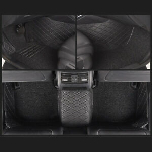 Us Custom For Ford F 150 11 14 4 door All Weather Car Floor Mats Set Carpets Pad