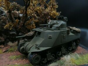 Academy US Tank М3А5 Lee conversion with interior 1:35 Built amp; Painted $85.00