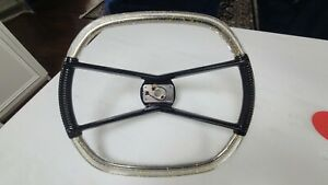 Original 1960 Plymouth Kustom Aero Hotrod Steering Wheel Restored Bomb