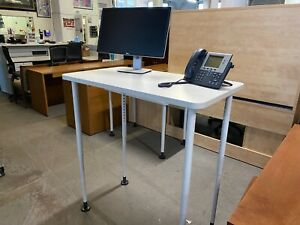 Height Adjustable Table desk By Steelcase Office Furniture