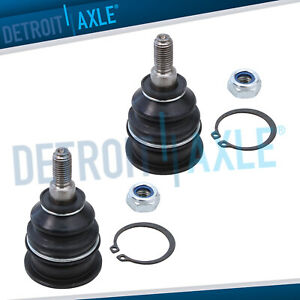 2 New Front Driver And Passenger Upper Suspension Ball Joint Set Kit