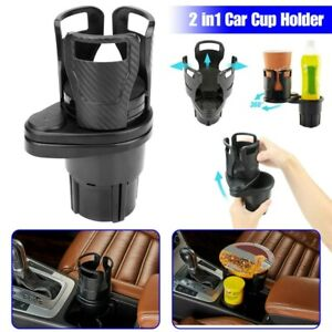 2in1 Multifunction Auto Car Seat Cup Holder Adjustable Water Bottle Drink Coffee