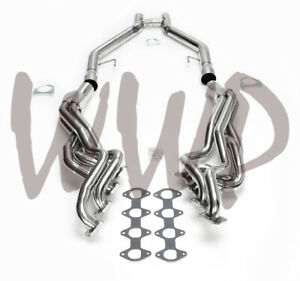 Stainless Long Tube Exhaust Manifold Header H pipe 05 10 Ford Mustang Gt 4 6l