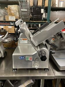 Globe G12a 12 Automatic Food Deli Slicer W Knife Sharpener Scratch And Dent