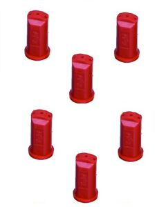 Pack Of 6 Teejet Stream jet Sj 3 Nozzle 3 stream Outlet Spray Tip 0 40 Gpm